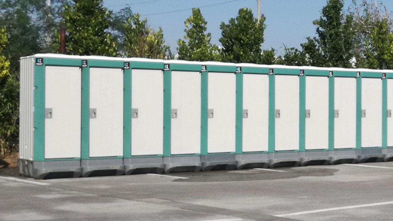 小櫃清掃社は仮設トイレの設置から汲み取りまで全て行います