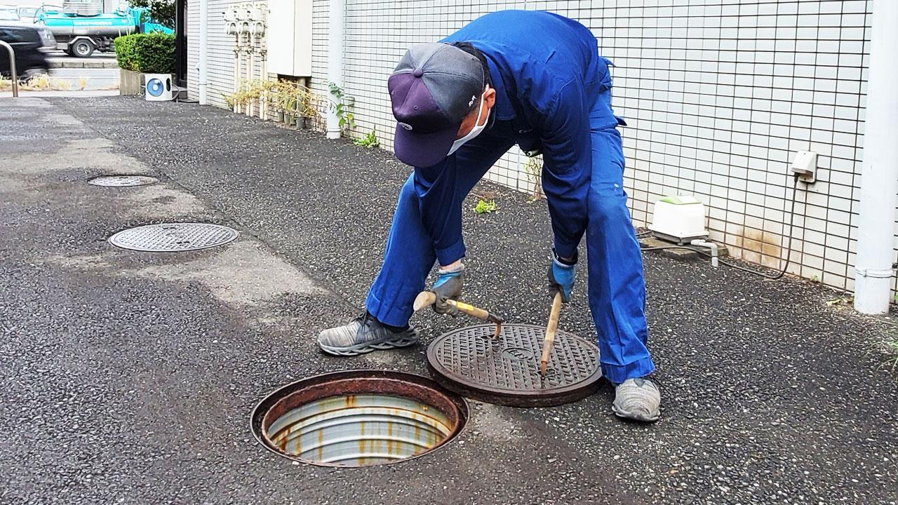 小櫃清掃社は浄化槽の掃除も徹底します